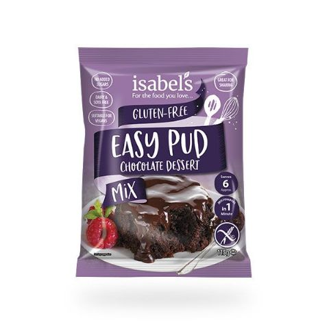 Isabel's Easy Pud Choc. Dessert Mix 115g